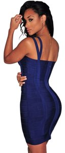 Hot Miami Styles short dress Blue or red Brand New Sexy Hug Body Bandage on Tradesy