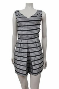 BCBGeneration Bcbg Striped Open Back Dress