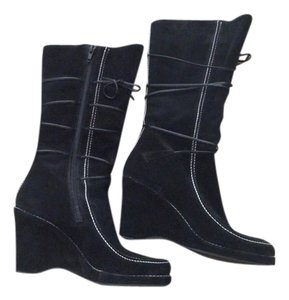 Via Spiga Black Boots