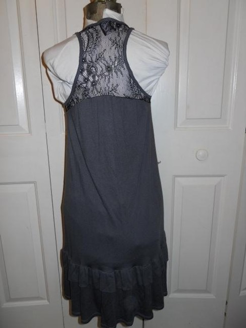 Ella Moss short dress grey & black on Tradesy Image 2