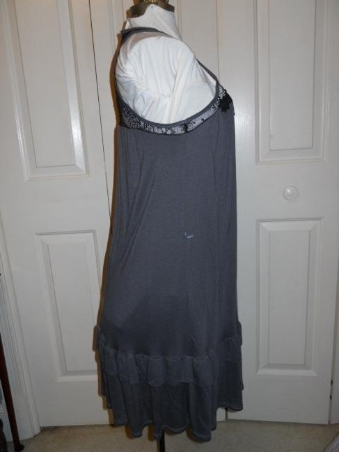 Ella Moss short dress grey & black on Tradesy Image 5