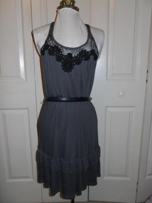 Ella Moss short dress grey & black on Tradesy Image 7