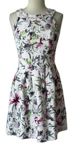 White House | Black Market short dress Tulip Floral on Tradesy