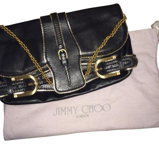 Preload https://img-static.tradesy.com/item/1204192/jimmy-choo-the-troy-black-and-gold-clutch-0-0-540-540.jpg