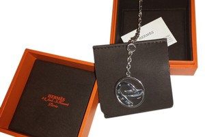 Hermès HERMES GOOD LUCK BAG CHARM AND KEY CHAIN IN SILVER