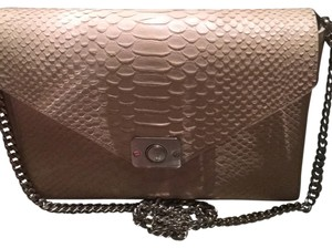 9bf55a8abc Mulberry Delphie Yellow cream Silky Snake Shoulder Bag - Tradesy