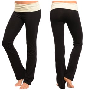 Other Black/Cream Yoga Pants
