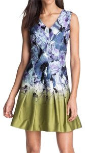 Vince Camuto short dress Multi Color Sleeveless A-line Cotton on Tradesy