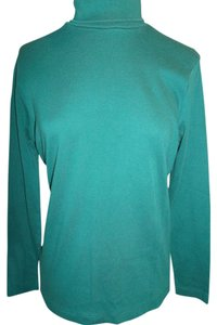 Bobbie Brooks Neck Longsleeve Comfortable Layering T Shirt Hunter Green