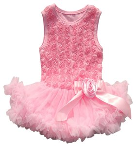 Other Toddler Rosette Sundress Skirt Pink Combo