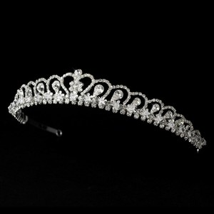 Royal Rhinestone Wedding Bridal Tiara
