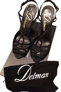 Delman Night Out Date Night Summer Black Formal