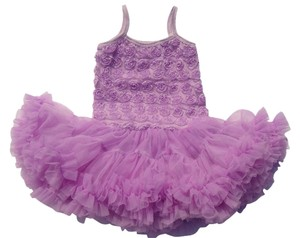 Other Rosette Petti Toddler Sundress Skirt Lavender Combo
