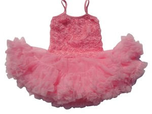 Other Rosette Petti Toddler Sundress Skirt Pink Combo