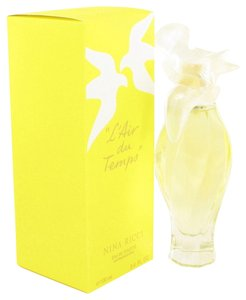 Nina Ricci L'AIR DU TEMPS by NINA RICCI ~ Eau de Toilette Spray W/Bird Cap 3.3 oz