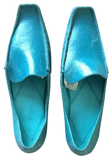 Kenneth Cole Turquoise Flats