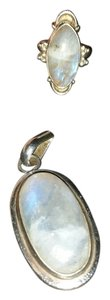 9.2.5 925 sterling moon quarts pendant
