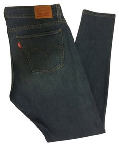 Levi's Pin 601 Denim Classic Skinny Jeans-Medium Wash
