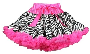 Other Toddler Petti Mini Skirt Zebra/ Hot Pink