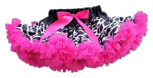 Other Toddler Petti Mini Skirt Black/ White/ Pink
