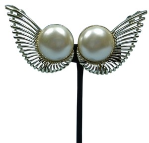 Other Pearl Wing Design Statement Earrings
