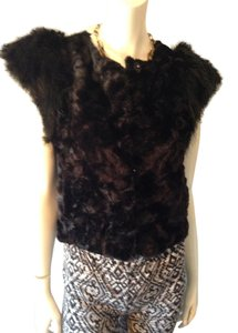Skaist Taylor Faux Fur Faux Fur Winter Fall Vest