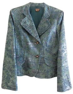 Anthracite Metallic Teal Blazer