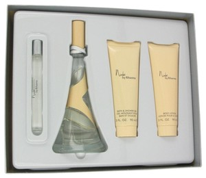 Perfumes by Rihanna NUDE by RIHANNA ~ Women's 4 Piece Gift Set