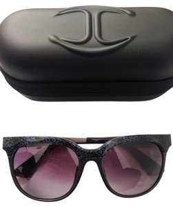 Just Cavalli Just Cavalli Grey Printed Wayfarer Sunglasses JC501S