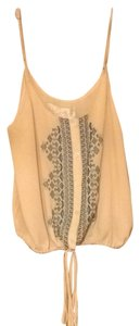 Forever 21 Embroidered Flattering Top Blush