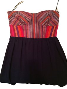 Greylin short dress Navy Multicolor Expose Zipper on Tradesy