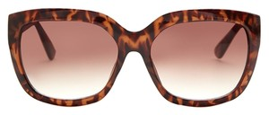 Vince Camuto Vince Camuto Brown Animal Print XL Cat Eye Sunglasses