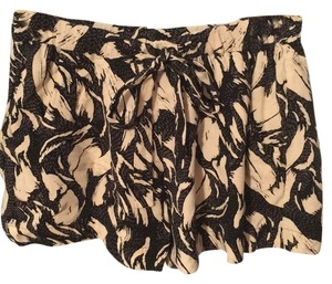 French Connection Mini/Short Shorts Black and Cream