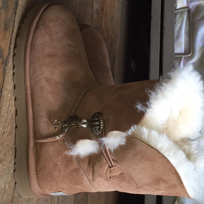Item - Tan/Brown Boots/Booties Size US 10 Wide (C, D)