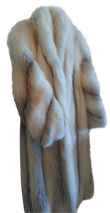 Made in Canada Fox Fur Full Length Fox Fur Fox Fur Golden Fox Fur Long Fox Fur Fur Coat