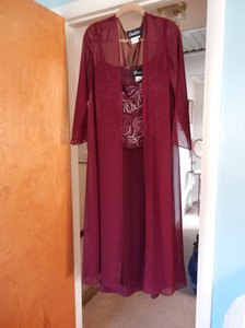 Dalia Burgundy Dal-rre821 Dress