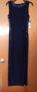 Chaps Navy Blue 513196650mll Dress