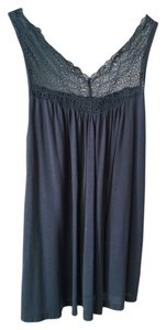 Only Hearts Anthropologie Lace Top Blue