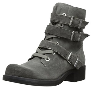 Sam Edelman Buckle Metallic Hardware Metal Hardware gray Boots