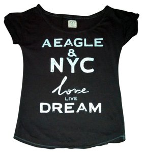 American Eagle Outfitters Nyc Vintage T Shirt Gray