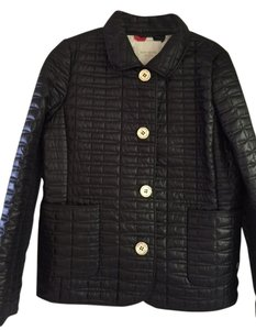 Kate Spade Quilted Red Black Jacket