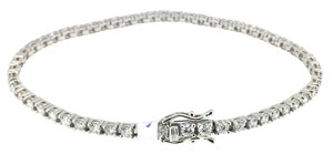 2.96ct Diamond Tennis Bracelet 14k
