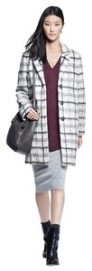 DKNY Michael Kors Tory Burch Plaid Trendy Boyfriend Coat