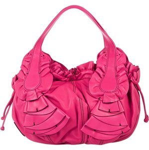 Valentino Ruffle Shoulder Bag