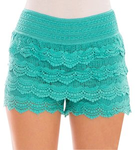 Mini/Short Shorts Aqua Blue Green