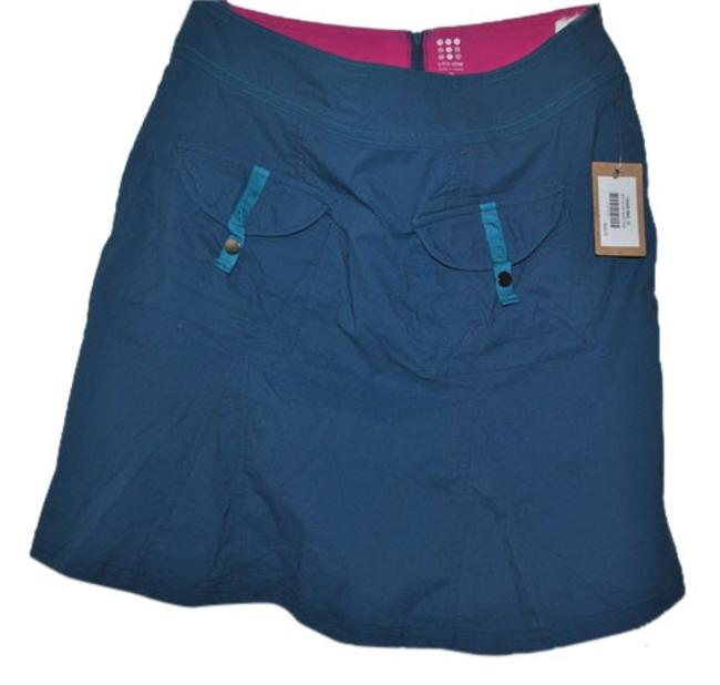 Item - Blue / Green Dirt In The Activewear Bottoms Size 2 (XS, 26)