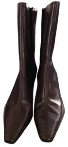 Nine West Leather Brown (Terra Honey) Boots