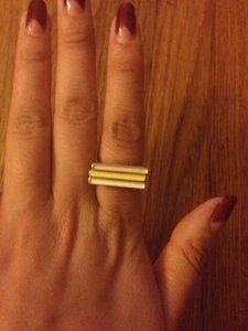 Other 3 Bar Stacked Ring Set