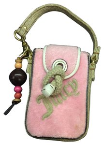 Juicy Couture Juicy Couture pink phone makeup keys pouch case