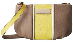 Marc Jacobs Percy Embossed Striped Cross Body Bag